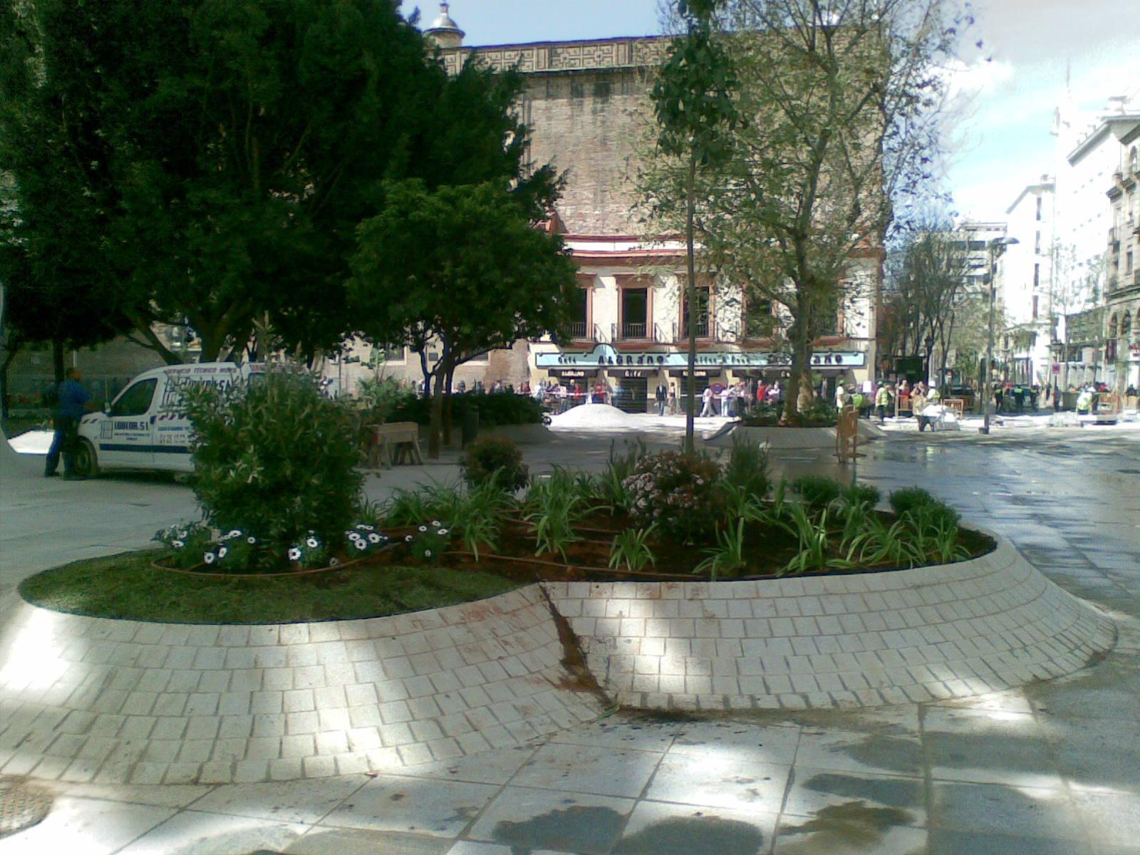 Jardinería y riego en Metropol