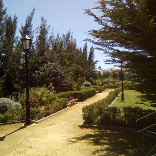 Adecentamiento Parque Gloria Fuertes (Carmona)